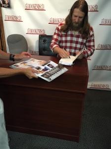 Daniel Bryan signing my stuff
