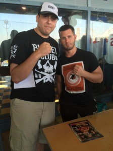 Alex Shelley and I