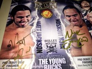 Young Bucks autographs