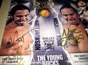 Young Bucks autographs
