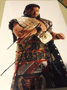 Hirooki Goto autograph