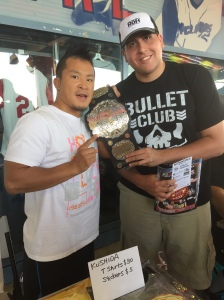 KUSHIDA and I