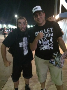 Mark Briscoe and I
