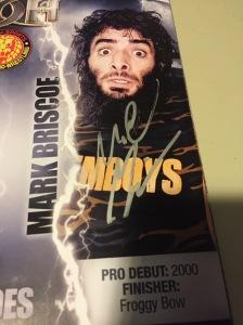 Mark Briscoe autograph in program
