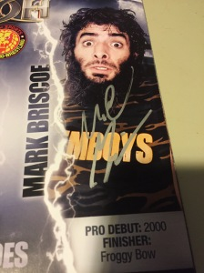 Mark Briscoe autograph in program