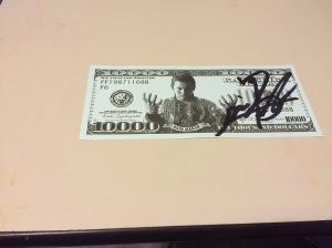 Okada bill autographed