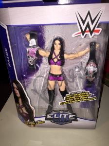Paige autographed Mattel Elite figure