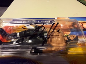 Seth Rollins autographed Mattel Basics figure