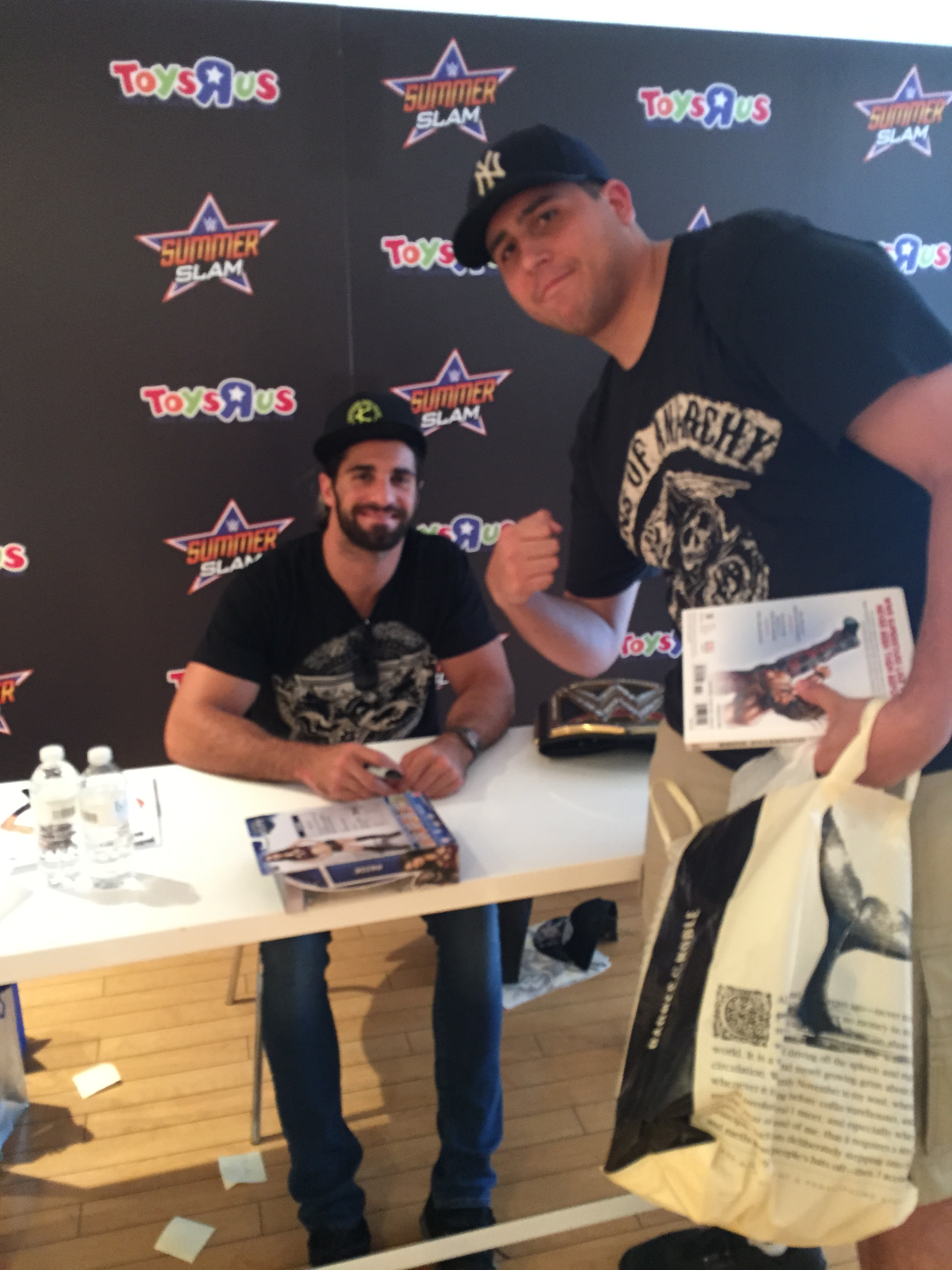 August 2015 page 2 squared circle conventions seth rollins and i kristyandbryce Image collections