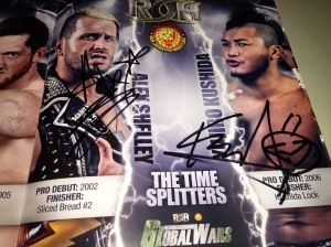 Time Splitters autographs