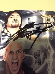 Watanabe autograph