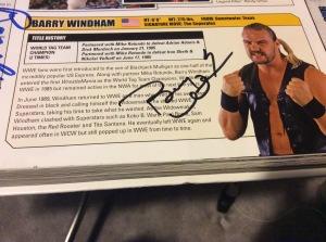 Barry Windham autograph
