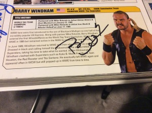 Barry Windham autograph