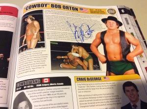 Bob Orton autograph