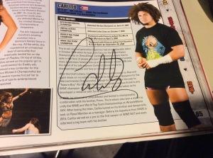 Carlito autograph