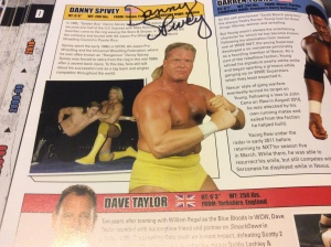 Dan Spivey autograph