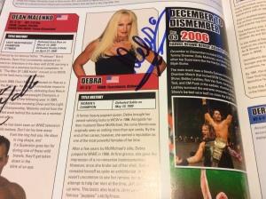 Debra autograph