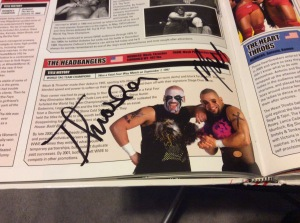 Headbangers autograph