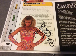 Heidi Lee Morgan autograph