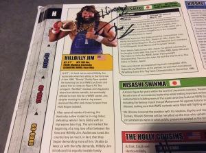 Hillbilly Jim autograph #2