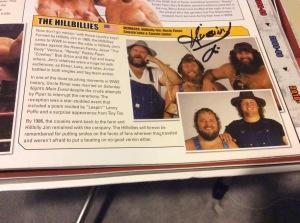 Hillbilly Jim autograph #1