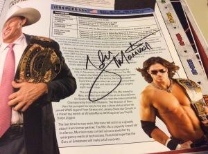 John Morrison autograph
