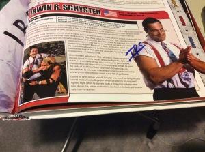 Mike Rotunda autograph #1