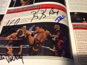 Mike Rotunda autograph #2