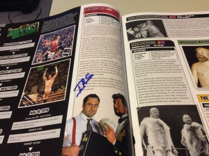 Mike Rotunda autograph #3