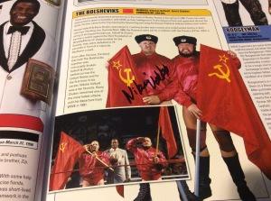 Nikolai Volkoff autograph #1