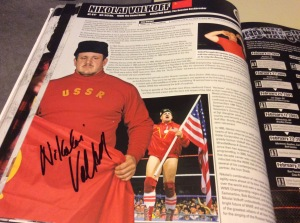 Nikolai Volkoff autograph #4