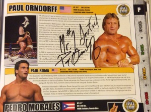 "Paul Orndorff autograph, signed ""Mr. #1derful Paul Orndorff"""