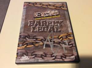 Tazz DVD cover autograph