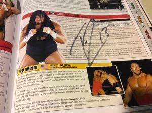 Tazz Encyclopedia autograph