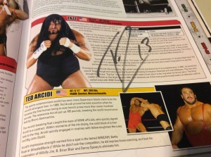 Tazz Encyclopedia autograph